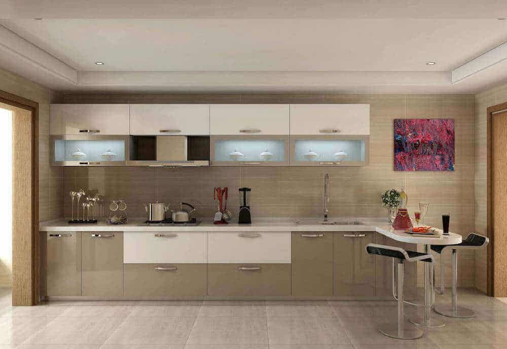 8 Best High Gloss Kitchen Cabinets 5, How To Clean Gloss White Kitchen Cabinets